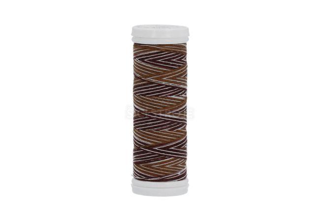 Polyesterová nit žíhaná Viga 80 multicolor 150 m - 9048