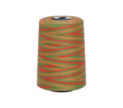 Polyesterová nit žíhaná Viga 80 multicolor - 9041