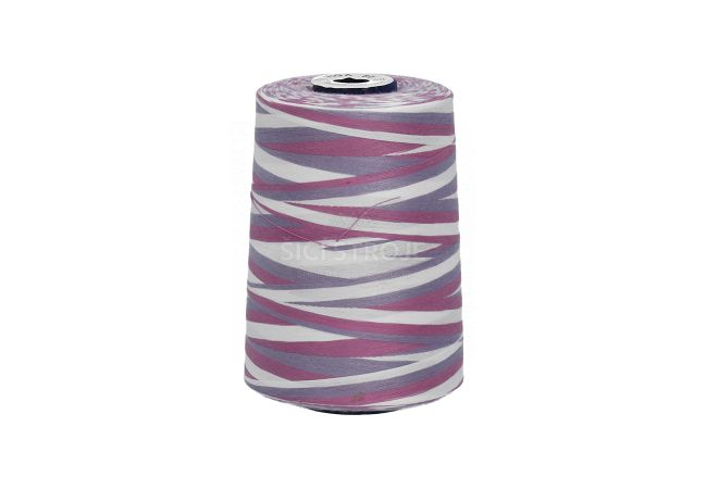 Polyesterová nit žíhaná Viga 80 multicolor - 9043