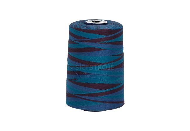 Polyesterová nit žíhaná Viga 80 multicolor - 9046