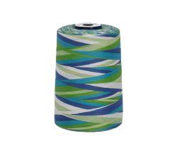 Polyesterová nit žíhaná Viga 80 multicolor - 9050