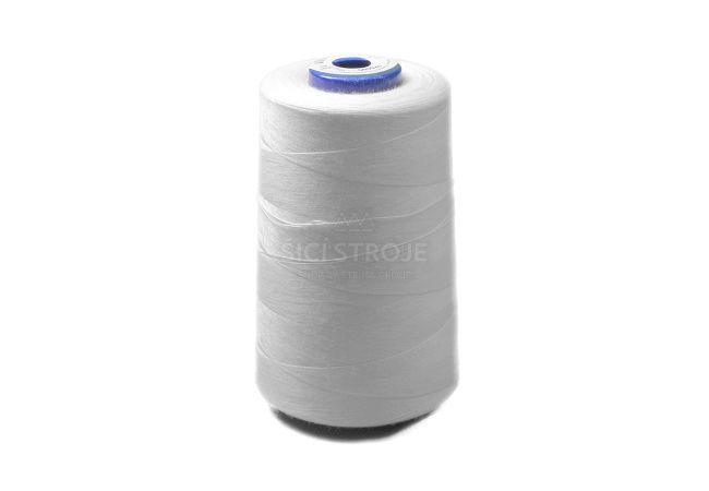 Polyesterová nit Viga 120 5000 m - 1630 - bílá