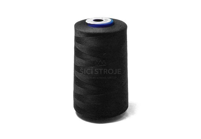 Polyesterová nit Viga 120 - 1627 - černá