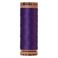 Silk-Finish Cotton 40 - Iris Blue