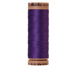 Silk-Finish Cotton 40 - Iris Blue