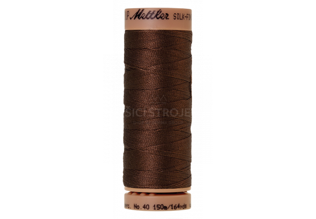 Silk-Finish Cotton 40 - Redwood