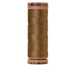 Silk-Finish Cotton 40 - Dark Tan