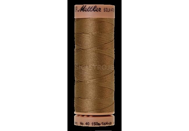 Silk-Finish Cotton 40 - Dark Tan