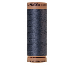 Silk-Finish Cotton 40 - Blue Shadow