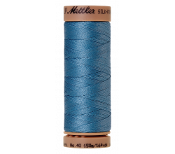 Silk-Finish Cotton 40 - Reef Blue
