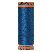 Silk-Finish Cotton 40 - Mediterranian Blue