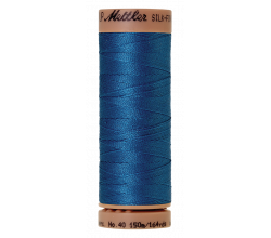 Silk-Finish Cotton 40 - Mediterranian Blue