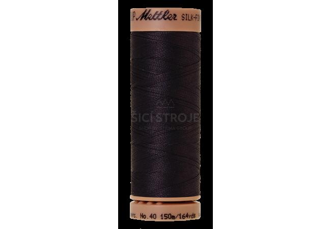 Silk-Finish Cotton 40 - Evening Blue