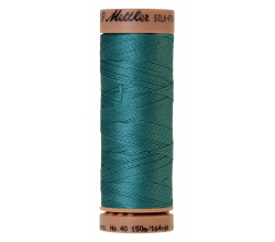 Silk-Finish Cotton 40 - Blue-green Opal
