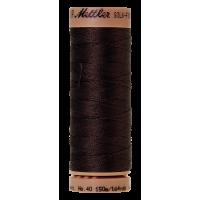 Silk-Finish Cotton 40 - Very Dark Brown