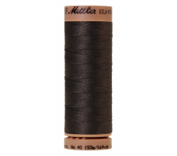 Silk-Finish Cotton 40 - Charcoal
