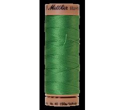 Silk-Finish Cotton 40 - Vibrant Green