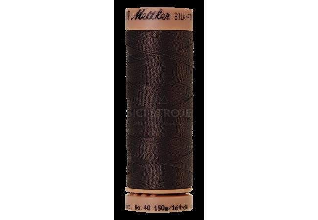 Silk-Finish Cotton 40 - Black Peppercorn