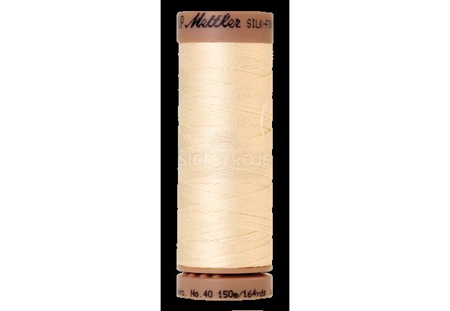 Silk-Finish Cotton 40 - Antique White