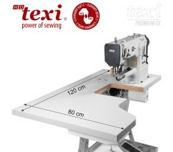 Šicí stroj TEXI HD FORTE CILINDRO UF PREMIUM EX XL