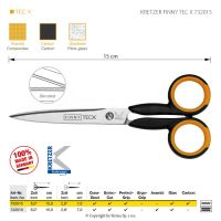 Nůžky KRETZER FINNY TEC X 732015