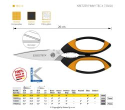 Nůžky KRETZER FINNY TEC X 733020