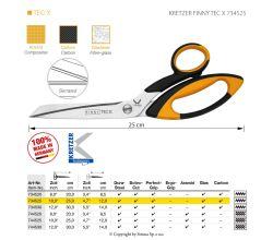 Nůžky KRETZER FINNY TEC X 734525