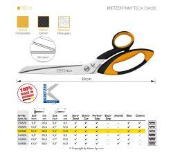 Nůžky KRETZER FINNY TEC X 734530