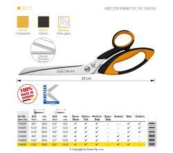Nůžky KRETZER FINNY TEC XX 744530
