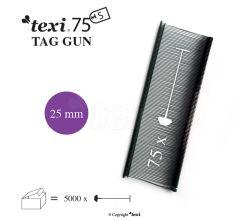 Splinty 25mm standard, černé, balení 5.000 kusů