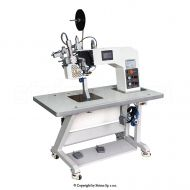 Stroje pro zcelování švů