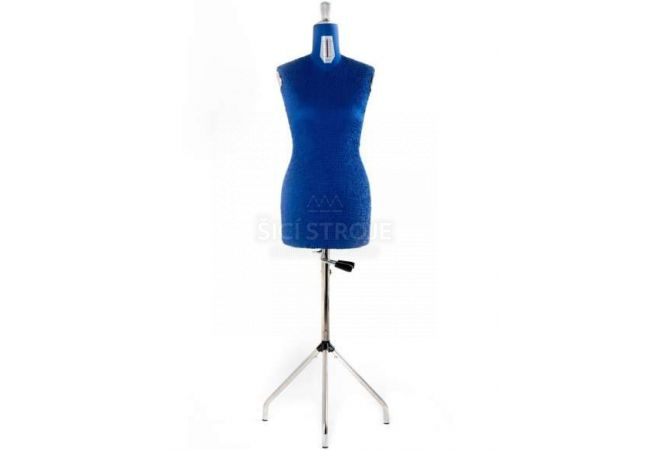 Nastavitelná krejčovská panna DRESS FORM PREMIUM 36-48 BLUE