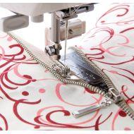 Texi kovová oboustranná patka na zipy pro šicí stroje