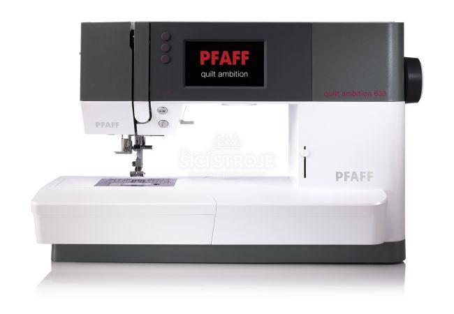Pfaff Quilt Ambition 630 šicí stroj velikosti XL