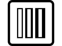 Regulace šířky knoflíkové dírky