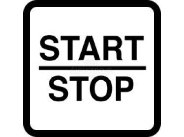 Tlačítko START / STOP