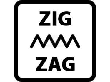 Regulace šířky cik caku (zig-zagu)