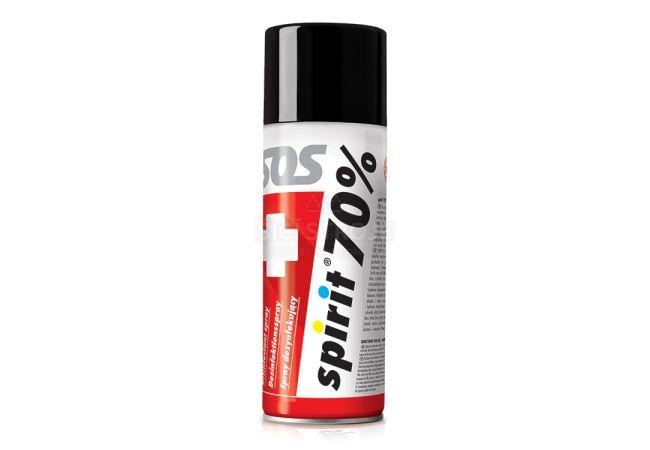 Dezinfekční sprej na bázi alkoholu SPIRIT 70% - spray 400 ml