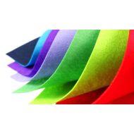 Filc na vyšívání a dekoraci - dekorativní plsť