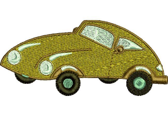 Výšivka auto 12