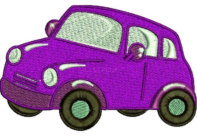 Výšivka auto 15