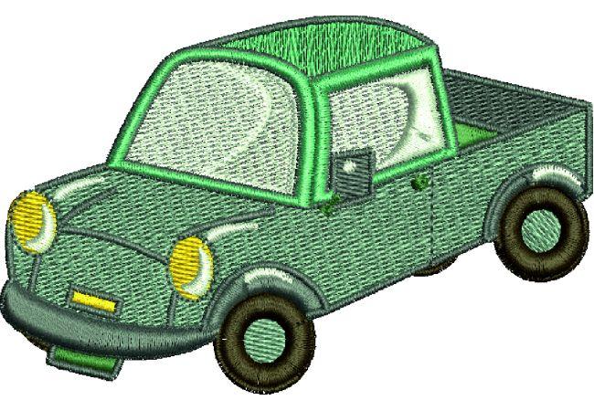 Výšivka auto 16