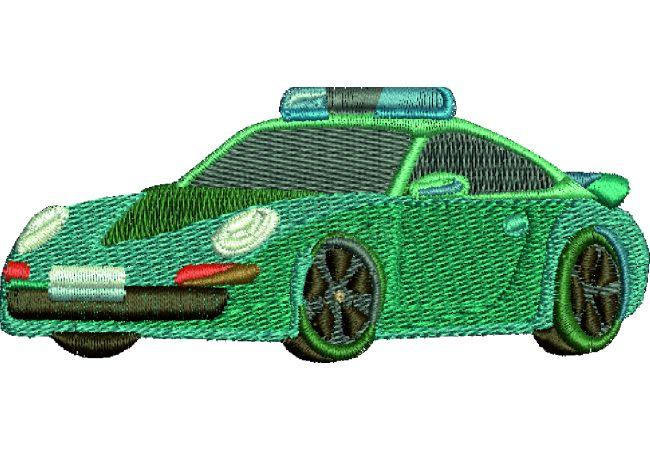Výšivka auto 19