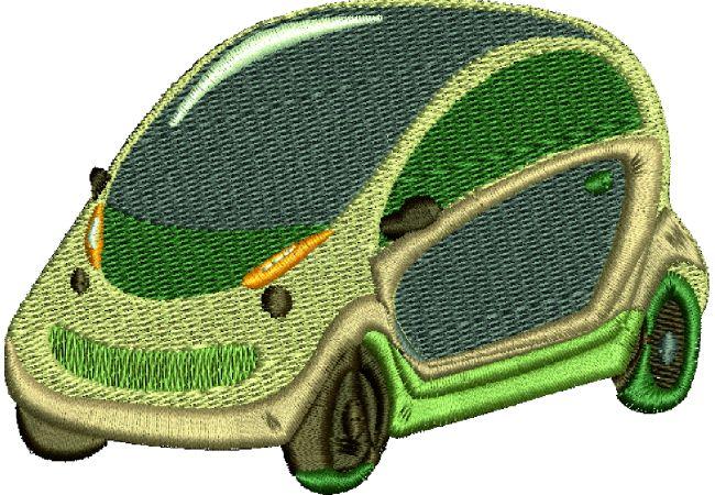 Výšivka auto 21