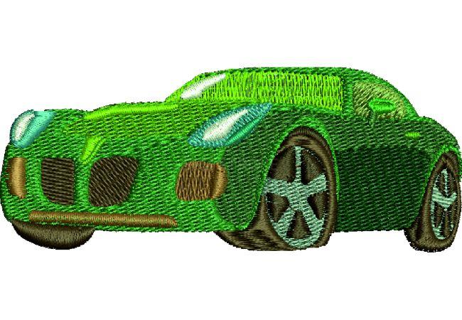 Výšivka auto 24