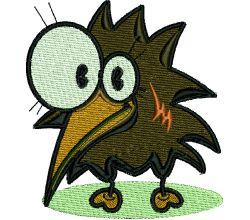 Výšivka ptáček 4