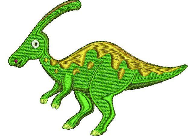 Výšivka dinosaurus 1