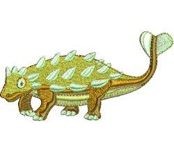 Výšivka dinosaurus 2