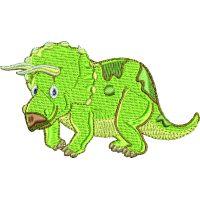 Výšivka dinosaurus 3