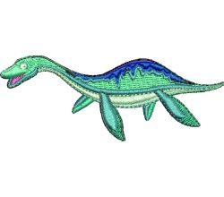 Výšivka dinosaurus 7